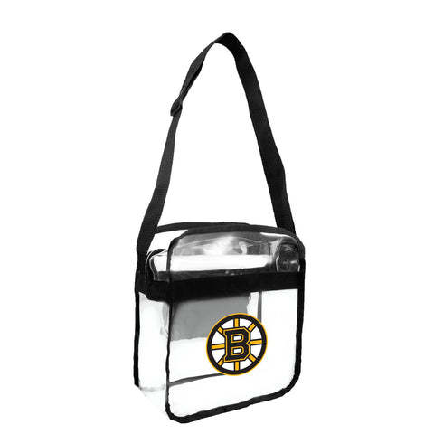 Boston Bruins Clear Carryall Crossbody