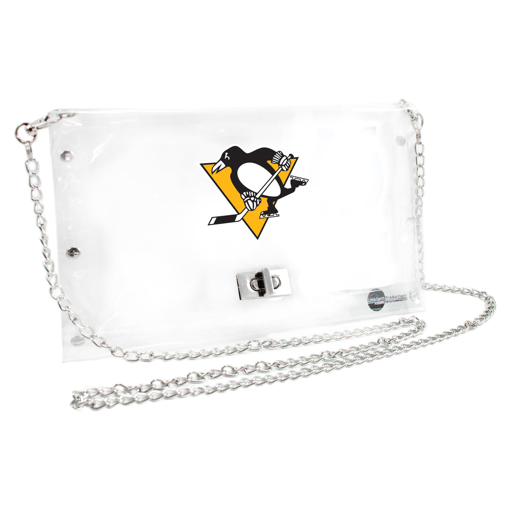 Pittsburgh Penguins Clear Envelope Purse