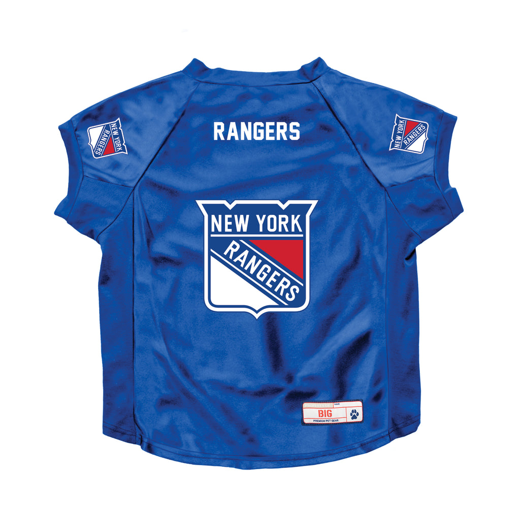 New York Rangers Big Pet Stretch Jersey