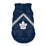 Toronto Maple Leafs Pet Puffer Vest
