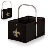 New Orleans Saints 'Urban Basket' Collapsible Tote-Black Digital Print