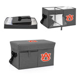 Auburn Tigers Ottoman Cooler & Seat-Grey Digital Print