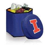 Illinois Fighting Illini 'Bongo' Cooler & Seat-Navy Digital Print