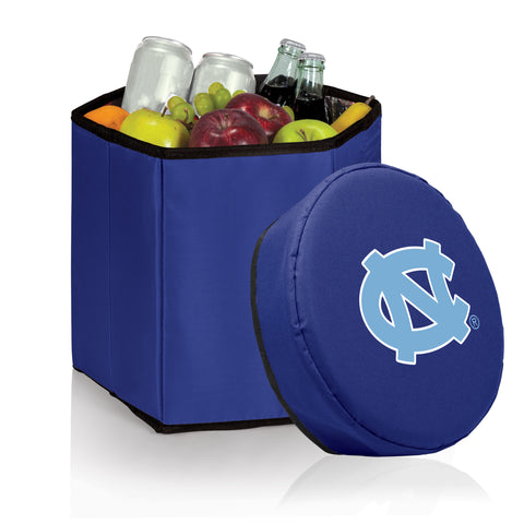 North Carolina Tar Heels 'Bongo' Cooler & Seat-Navy Digital Print