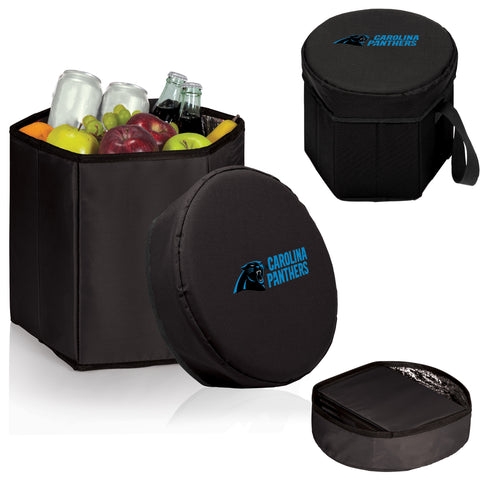 Carolina Panthers 'Bongo' Cooler & Seat-Black Digital Print