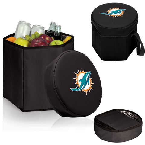 Miami Dolphins 'Bongo' Cooler & Seat-Black Digital Print