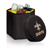 New Orleans Saints 'Bongo' Cooler & Seat-Black Digital Print