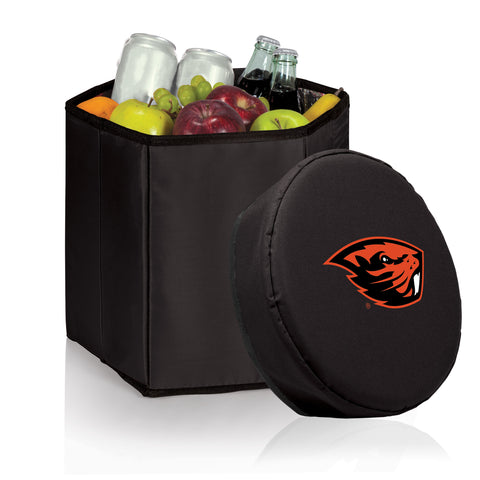 Oregon State Beavers 'Bongo' Cooler & Seat-Black Digital Print