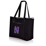 Northwestern Wildcats 'Tahoe' XL Cooler Tote-Black Digital Print