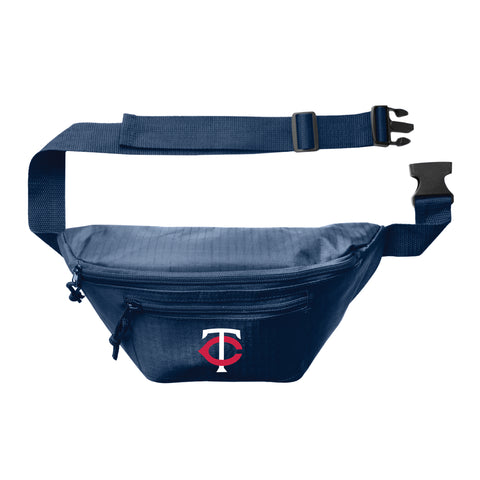 Minnesota Twins 3Zip Hip Pack - Navy