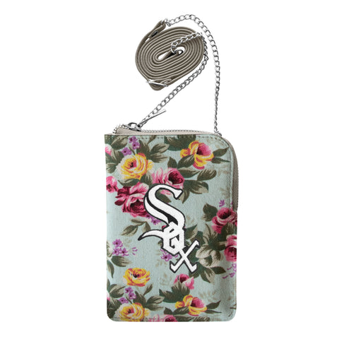 Chicago White Sox Canvas Floral Smart Purse