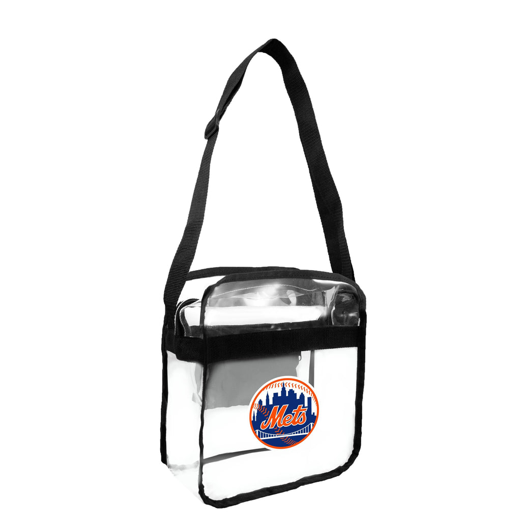 New York Mets Clear Carryall Crossbody