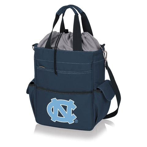 North Carolina Tar Heels 'Activo' Cooler Tote-Navy Digital Print