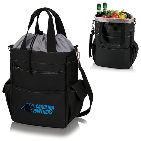Carolina Panthers 'Activo' Cooler Tote-Black Digital Print