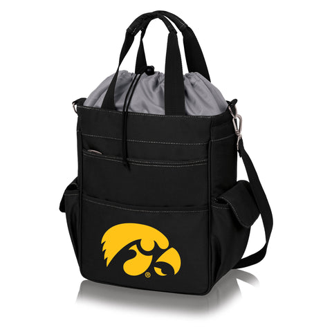 Iowa Hawkeyes 'Activo' Cooler Tote-Black Digital Print