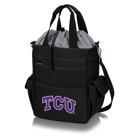 TCU Horned Frogs 'Activo' Cooler Tote-Black Digital Print
