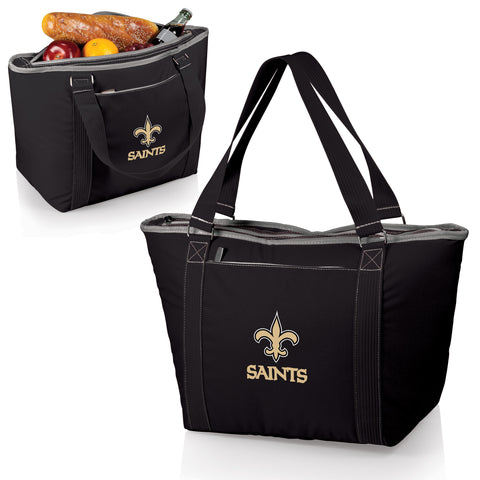 New Orleans Saints 'Topanga' Cooler Tote-Black Digital Print