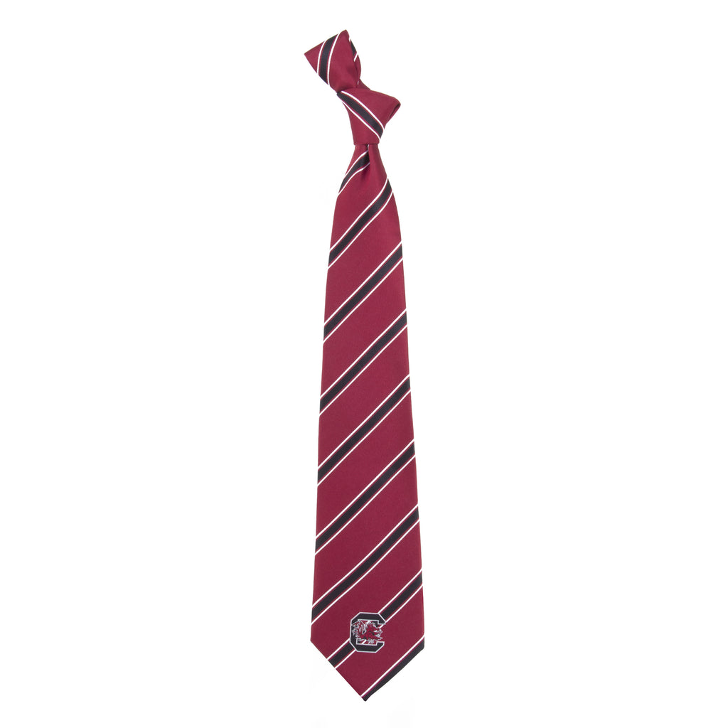 South Carolina Gamecocks Woven Poly Neck Tie