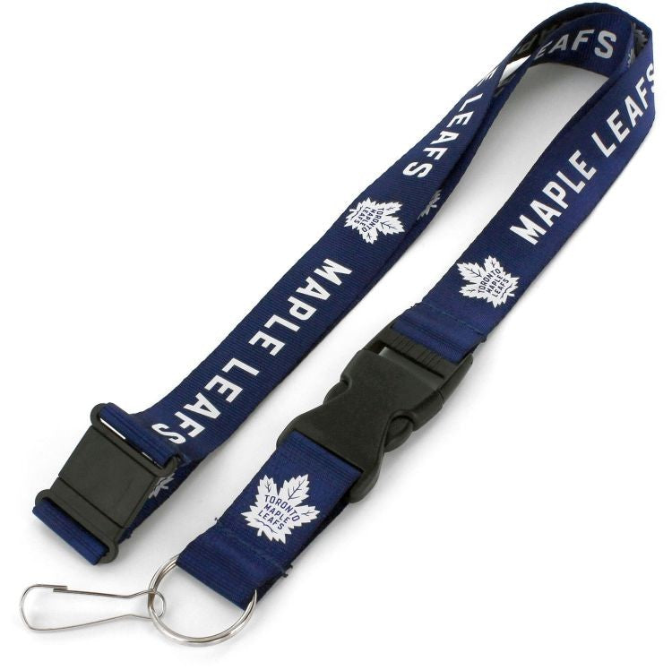 Toronto Maple Leafs Lanyard Blue