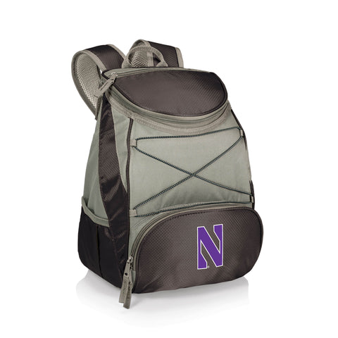 Northwestern Wildcats 'PTX' Cooler Backpack-Black Digital Print