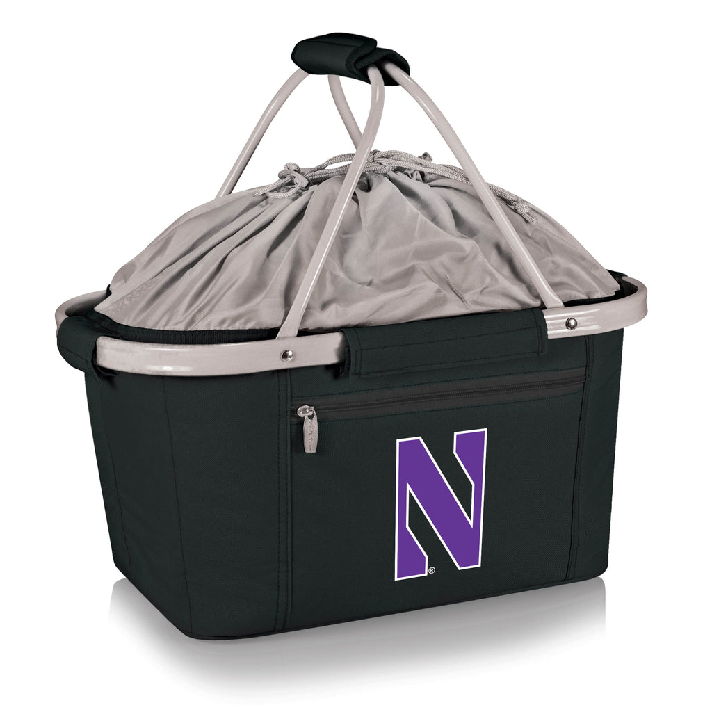 Northwestern Wildcats 'Metro Basket' Collapsible Cooler Tote