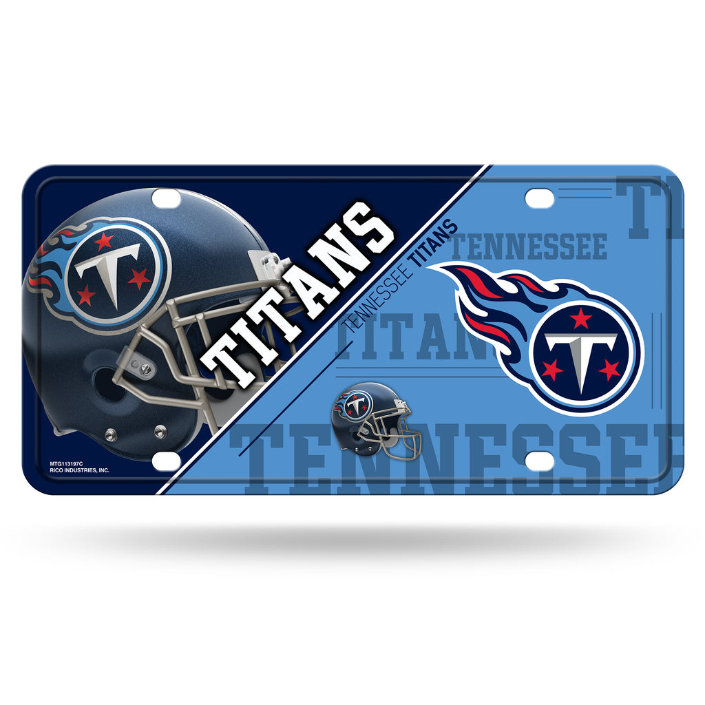Tennessee Titans License Plate Metal