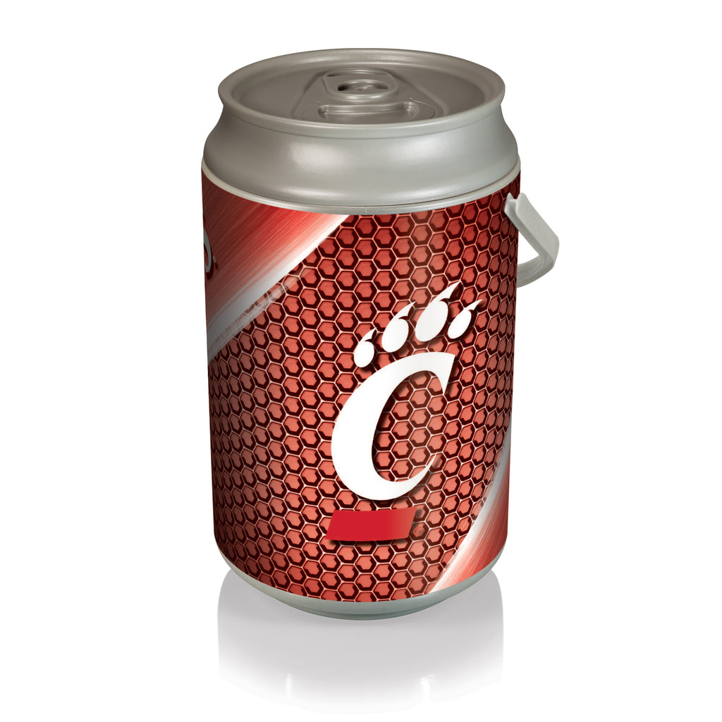 Cincinnati Bearcats Mega Can Cooler-Silver/Gray Digital Print