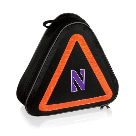 Northwestern Wildcats 'Roadside' Emergency Kit-Black Digital Print