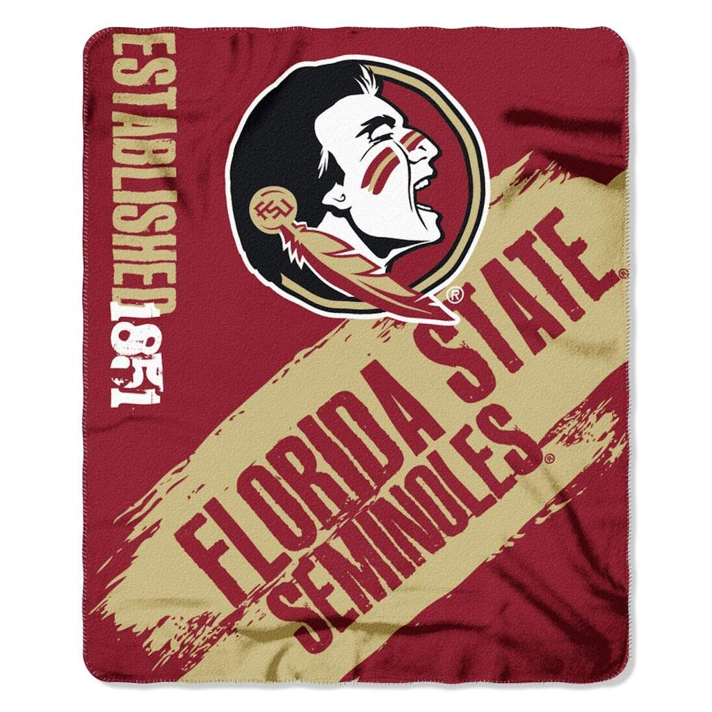 Florida State Seminoles NCAA Fleece Blanket Painted Design