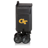 Georgia Tech Yellow Jackets 'Adventure Wagon' Folding Utility Wagon-Dark Grey Digital Print