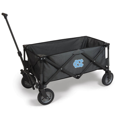 North Carolina Tar Heels 'Adventure Wagon' Folding Utility Wagon-Dark Grey Digital Print