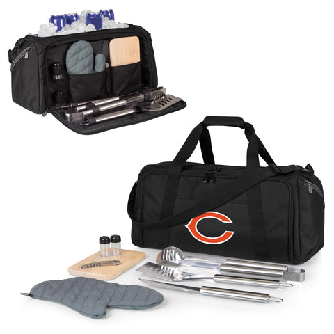 Chicago Bears 'BBQ Kit Cooler'-Black Digital Print