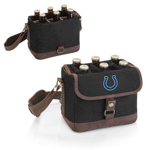 Indianapolis Colts 'Beer Caddy' Cooler Tote with Opener-Black Digital Print