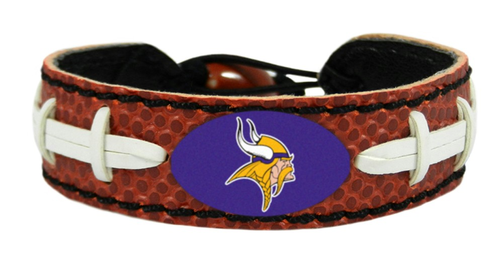 Minnesota Vikings Classic Football Bracelet