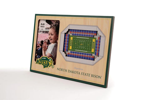 NCAA North Dakota State Bison 3D StadiumViews Picture Frame