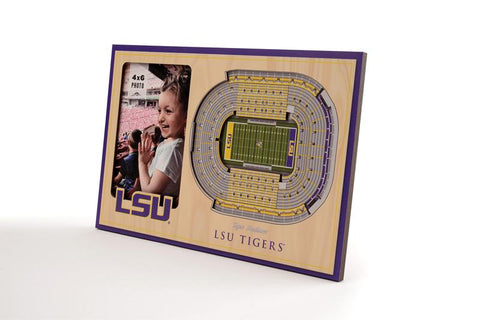 NCAA LSU Tigers 3D StadiumViews Picture Frame