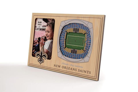 NFL New Orleans Saints 3D StadiumViews Picture Frame