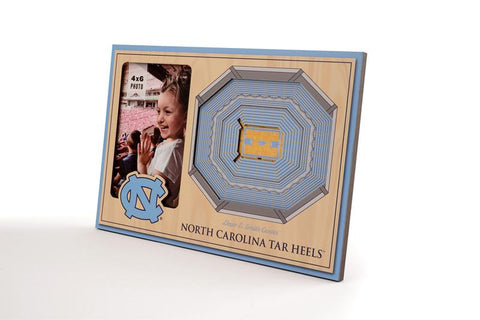 NCAA North Carolina Tar Heels 3D StadiumViews Picture Frame