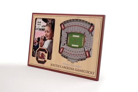 NCAA South Carolina Gamecocks 3D StadiumViews Picture Frame