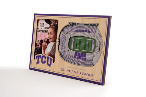 NCAA TCU Horned Frogs 3D StadiumViews Picture Frame