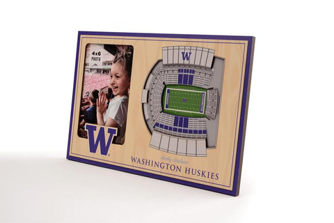 NCAA Washington Huskies 3D StadiumViews Picture Frame