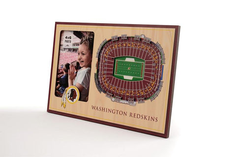 NFL Washington Redskins 3D StadiumViews Picture Frame