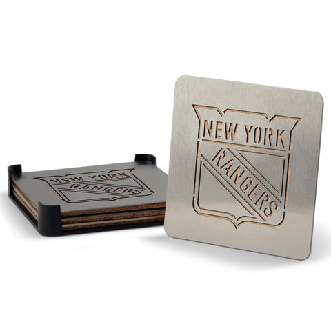New York Rangers 4-piece Boaster Drink Coaster