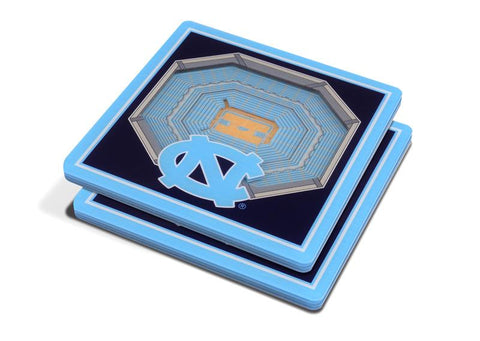 NCAA North Carolina Tar Heels 3D StadiumViews Coasters