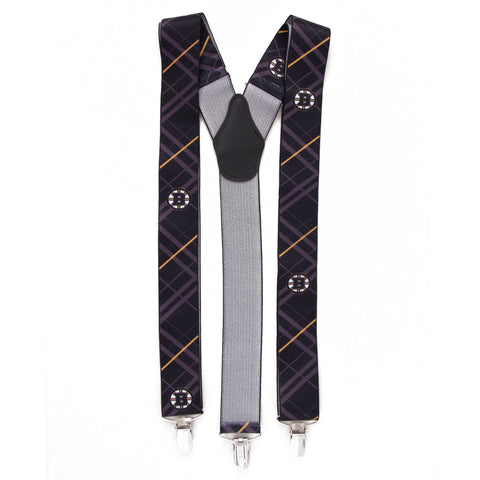 Boston Bruins Oxford Suspenders