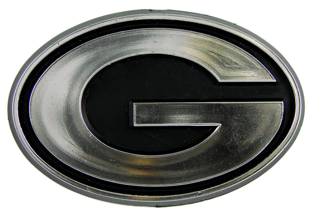 Green Bay Packers Silver Auto Emblem