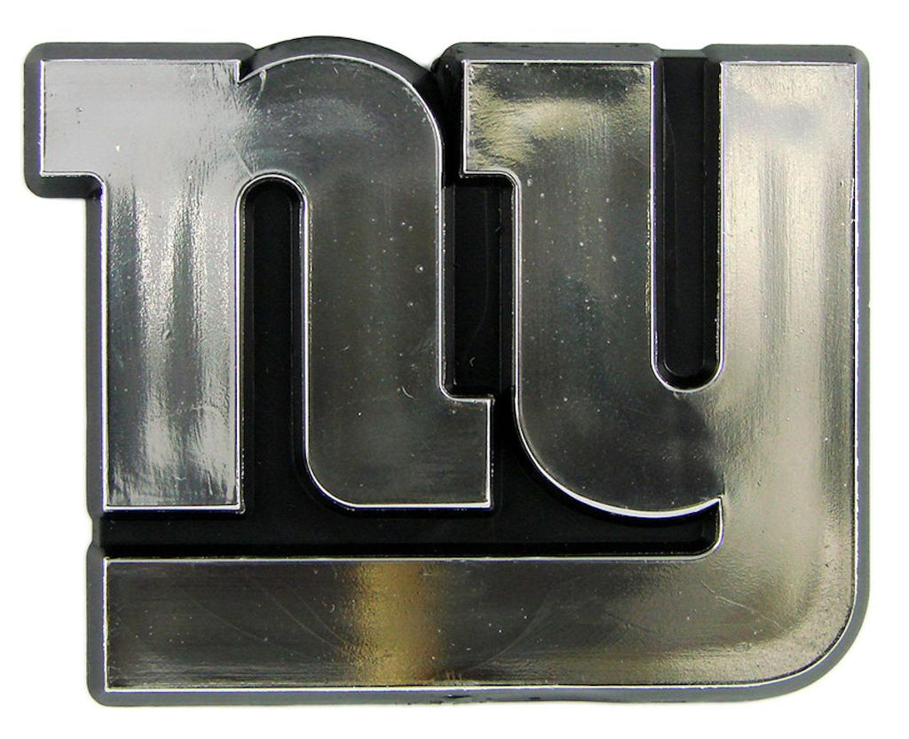 New York Giants Silver Auto Emblem