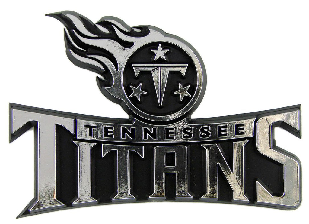 Tennessee Titans Silver Auto Emblem