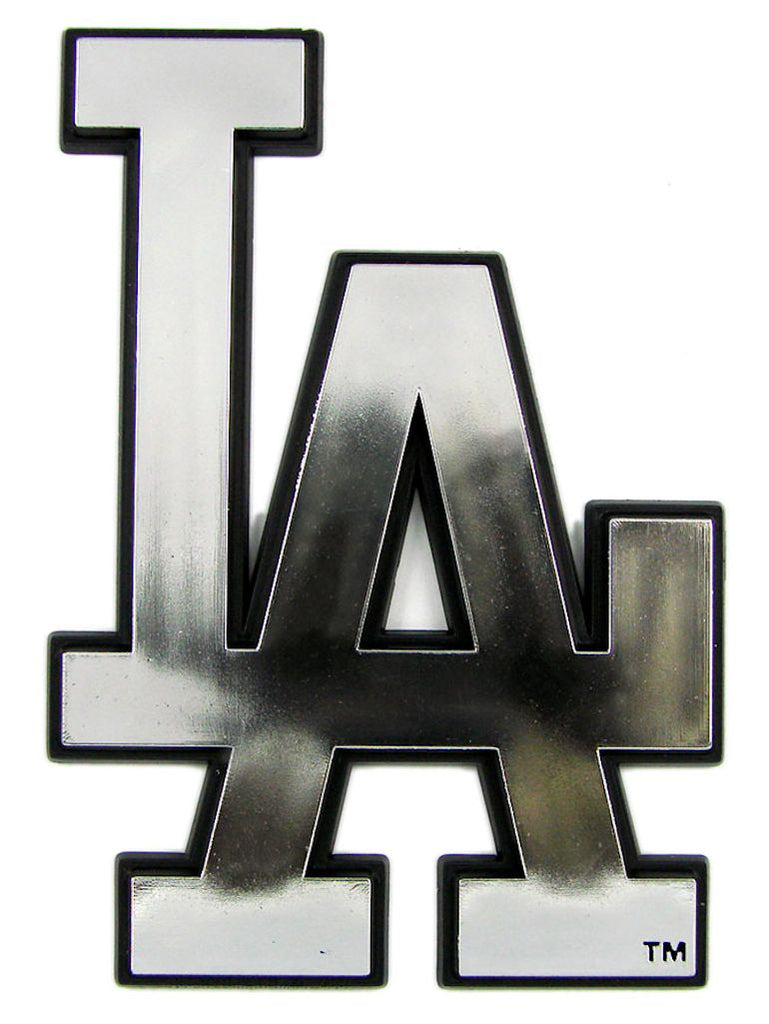 Los Angeles Dodgers Silver Auto Emblem