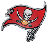 Tampa Bay Buccaneers  'True Fan' Die Cut Color Auto Emblem